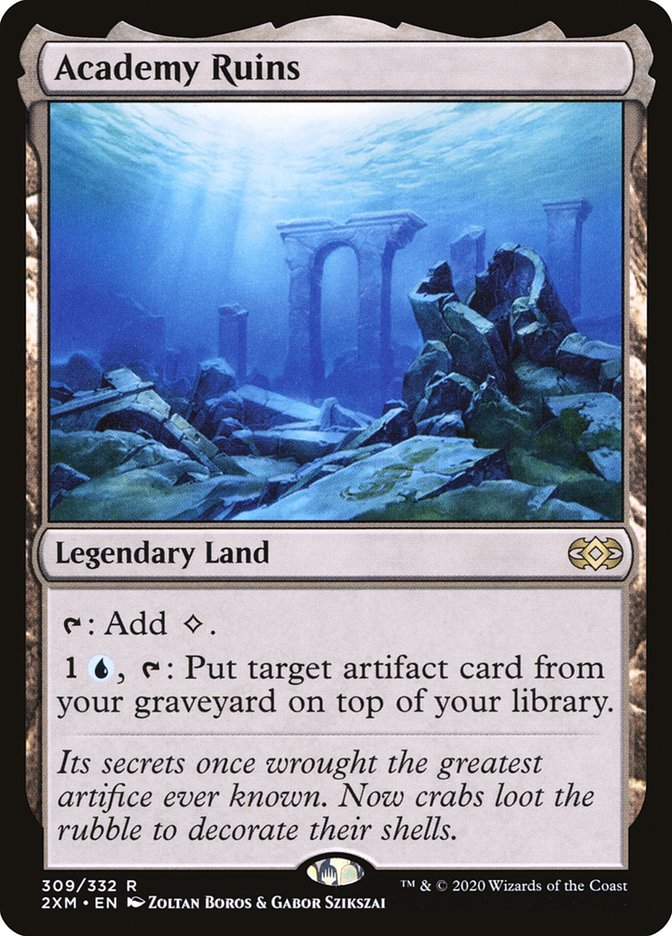 Carta /Academy Ruins de Magic the Gathering