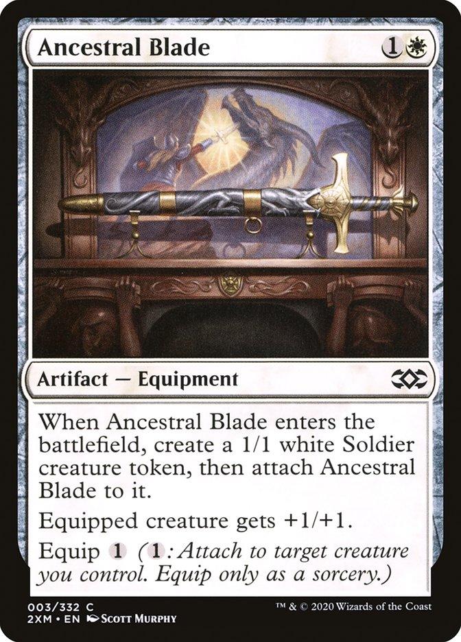 Carta /Ancestral Blade de Magic the Gathering