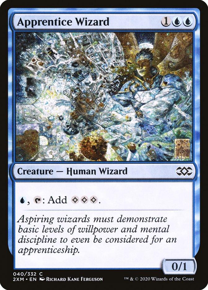 Carta /Apprentice Wizard de Magic the Gathering