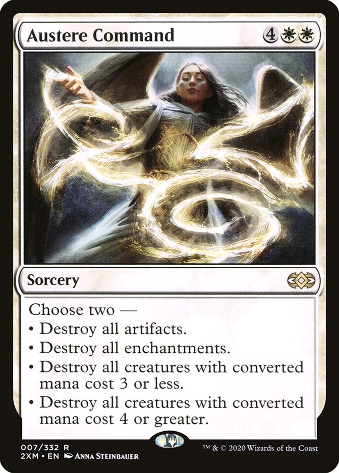 Carta /Austere Command de Magic the Gathering