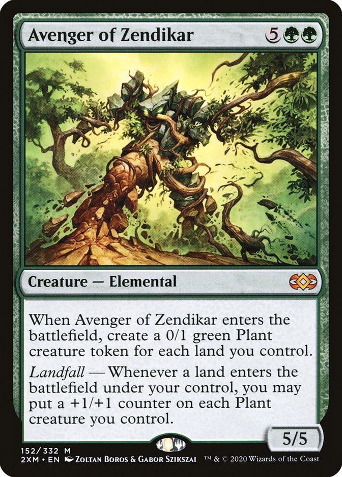 Carta /Avenger of Zendikar de Magic the Gathering