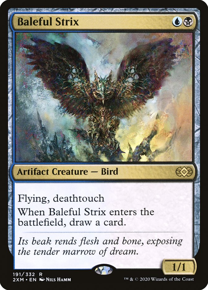 Carta /Baleful Strix de Magic the Gathering