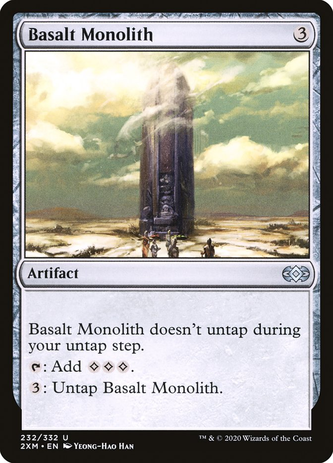 Carta /Basalt Monolith de Magic the Gathering