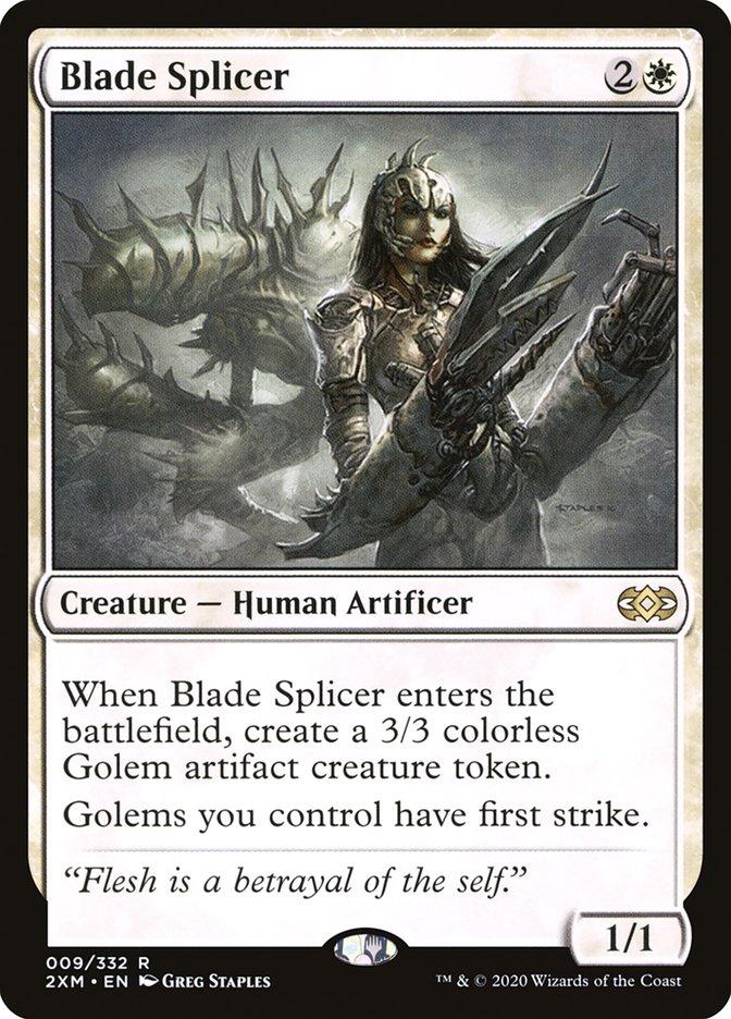 Carta /Blade Splicer de Magic the Gathering