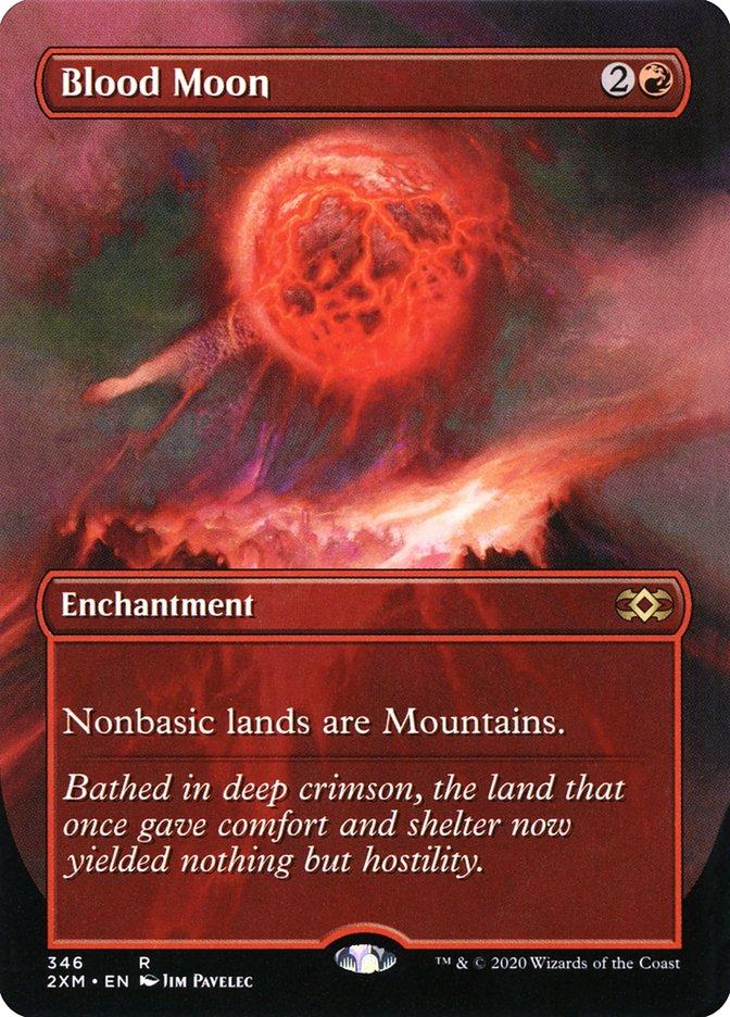 Carta /Blood Moon de Magic the Gathering