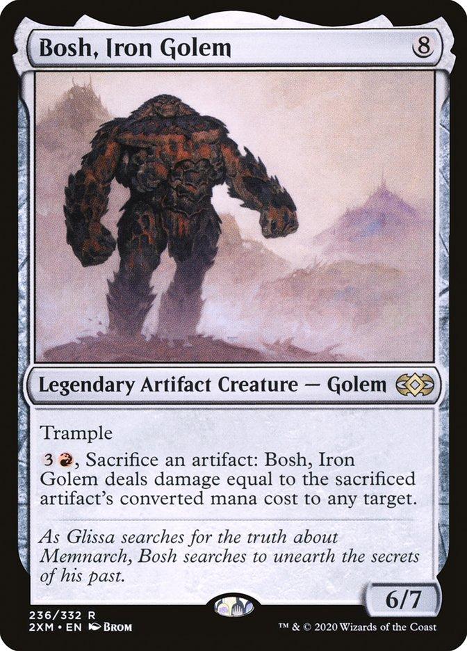Carta /Bosh, Iron Golem de Magic the Gathering