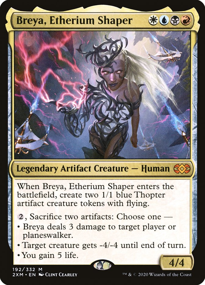 Carta /Breya, Etherium Shaper de Magic the Gathering