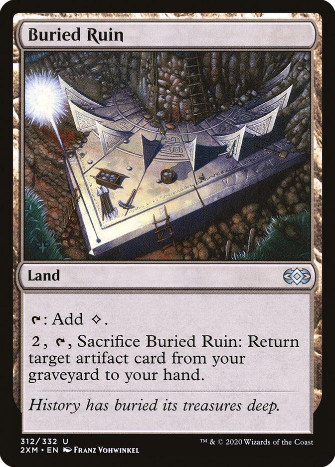 Carta /Buried Ruin de Magic the Gathering