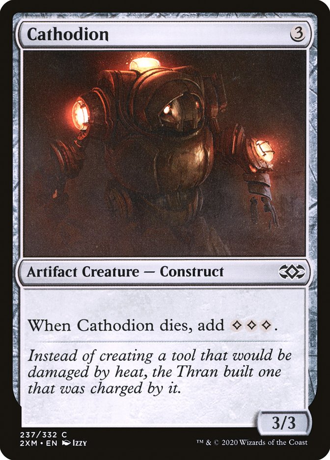 Carta /Cathodion de Magic the Gathering