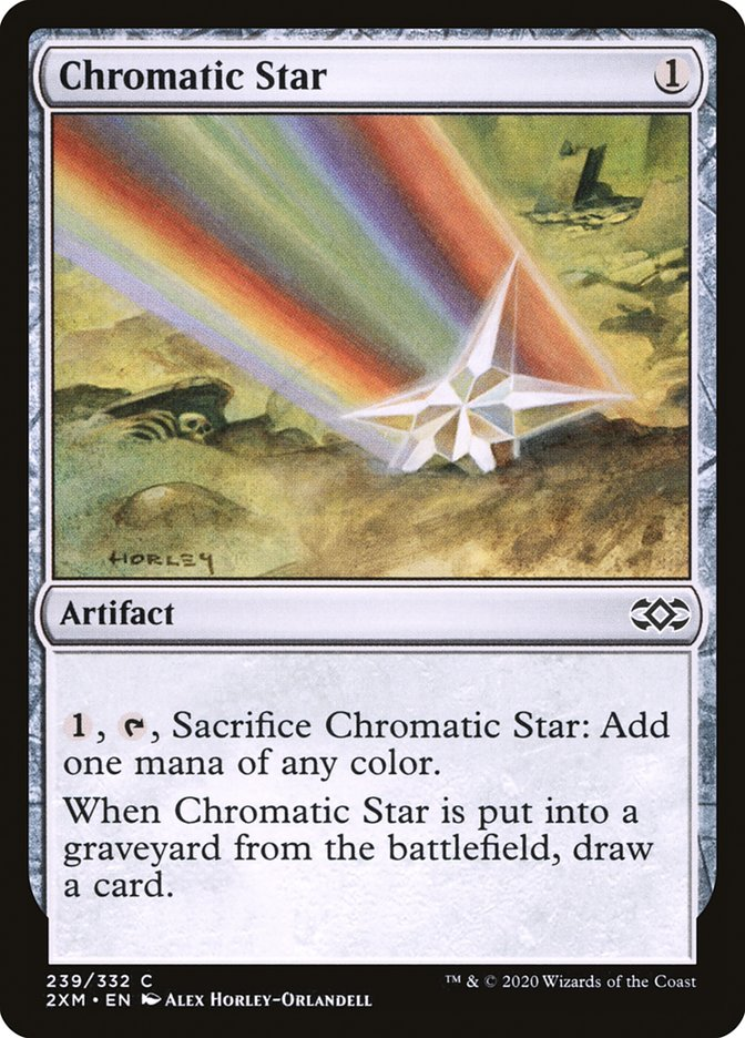 Carta /Chromatic Star de Magic the Gathering