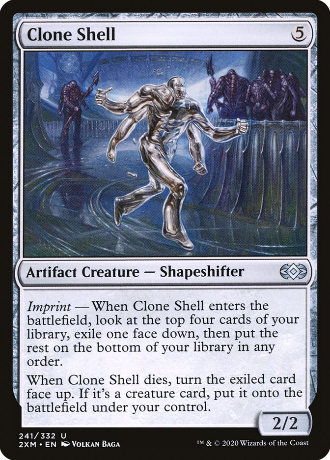 Carta /Clone Shell de Magic the Gathering