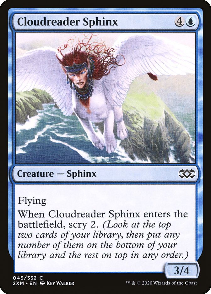 Carta /Cloudreader Sphinx de Magic the Gathering