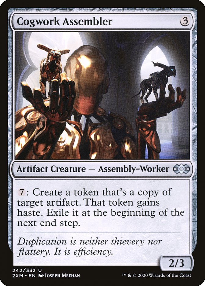 Carta /Cogwork Assembler de Magic the Gathering