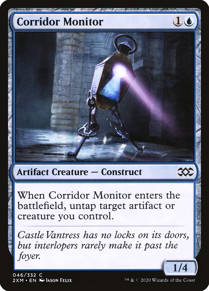 Carta /Corridor Monitor de Magic the Gathering