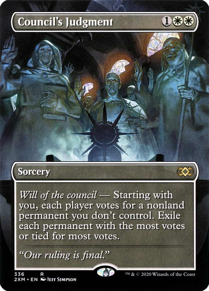 Carta /Council's Judgment de Magic the Gathering