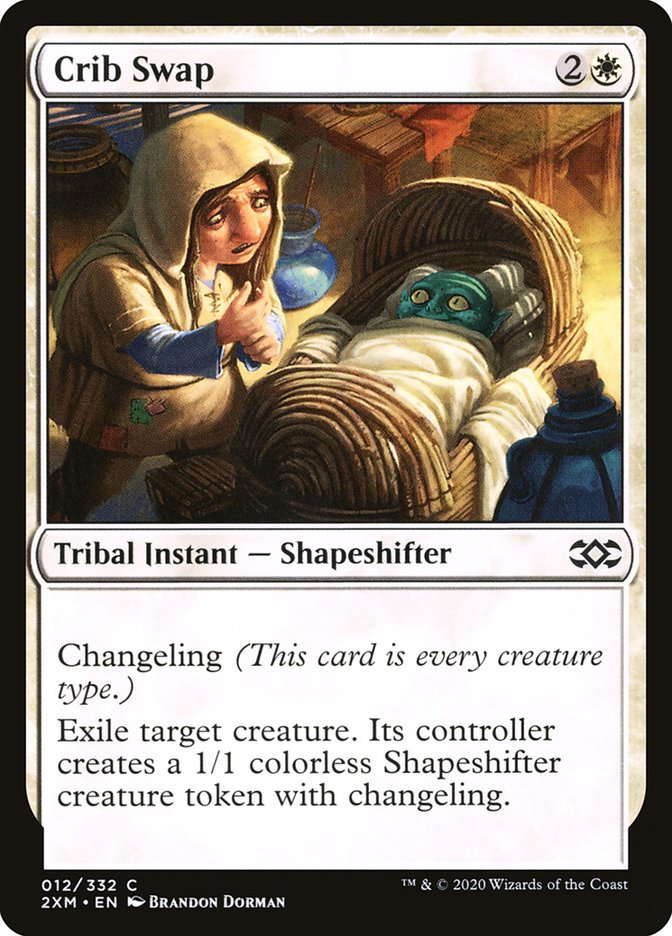 Carta /Crib Swap de Magic the Gathering