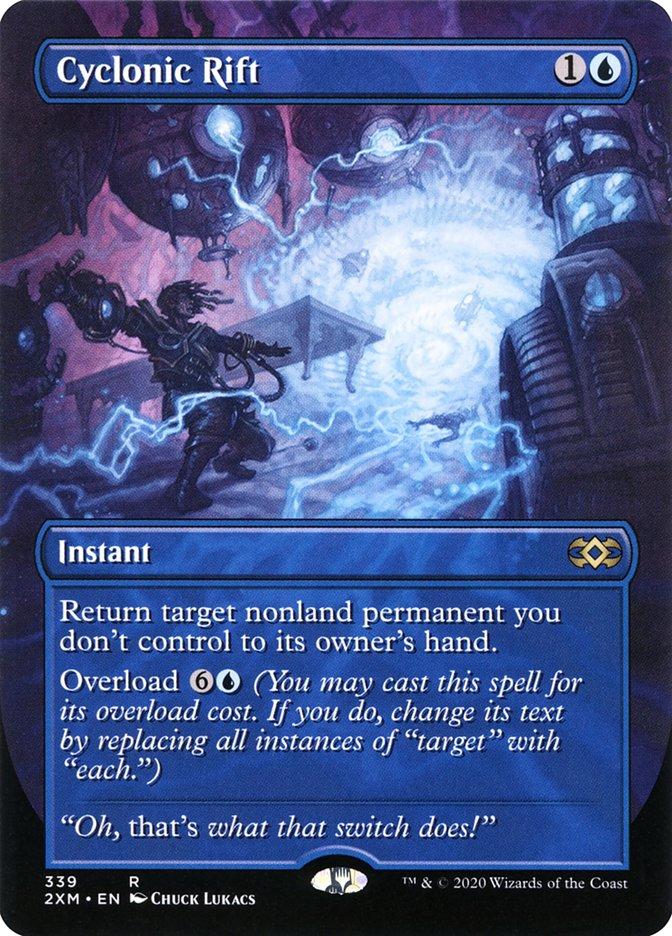 Carta /Cyclonic Rift de Magic the Gathering