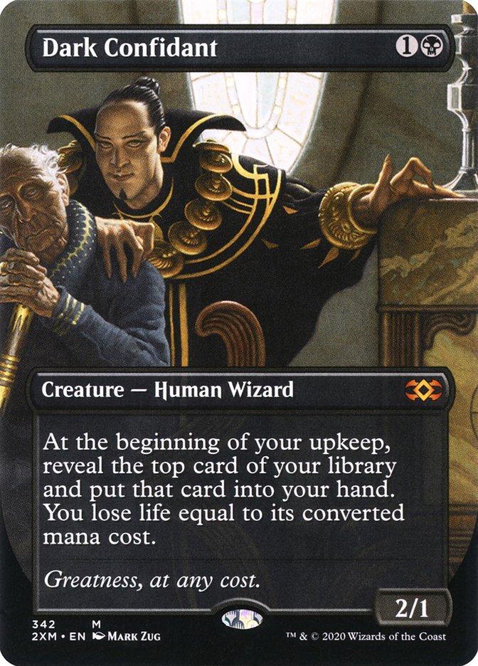 Carta /Dark Confidant de Magic the Gathering