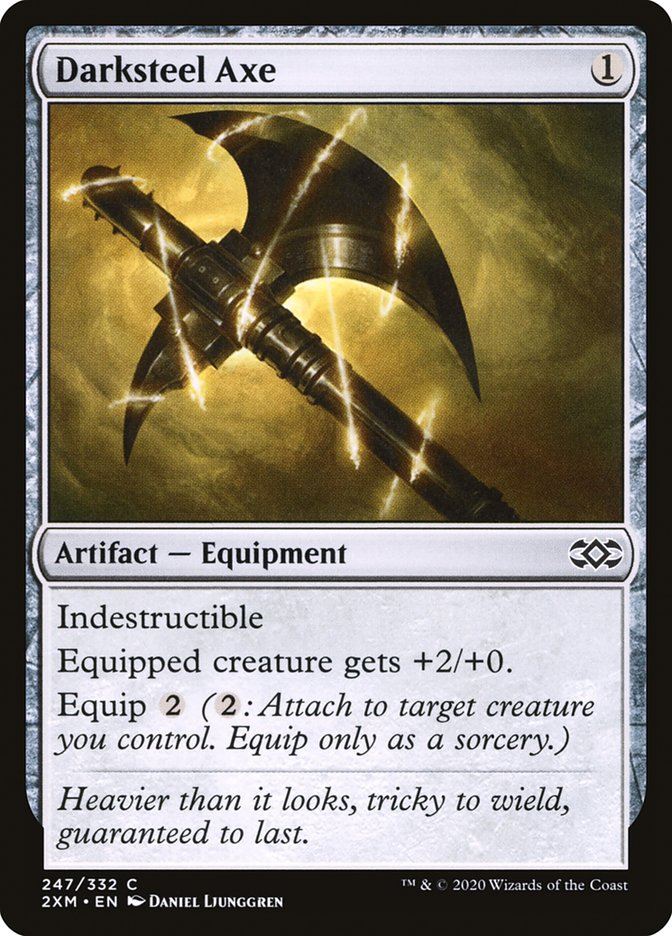 Carta /Darksteel Axe de Magic the Gathering