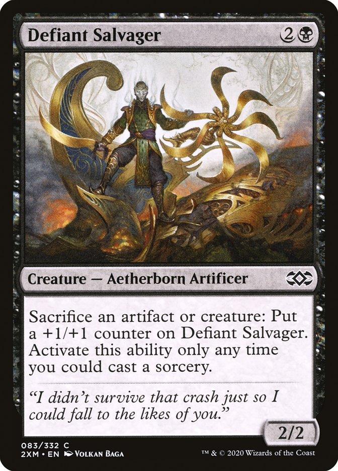 Carta /Defiant Salvager de Magic the Gathering