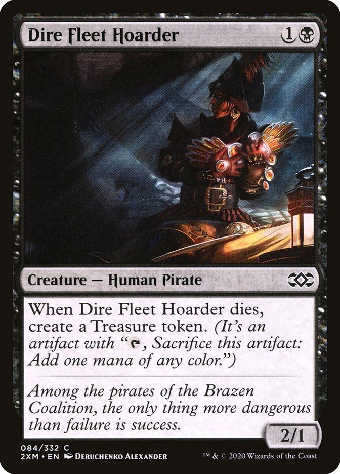 Carta /Dire Fleet Hoarder de Magic the Gathering