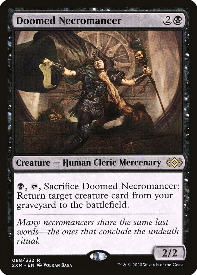 Carta /Doomed Necromancer de Magic the Gathering