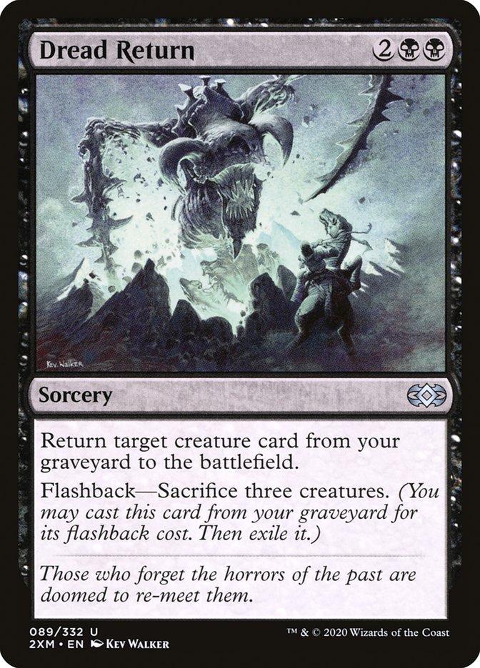 Carta /Dread Return de Magic the Gathering