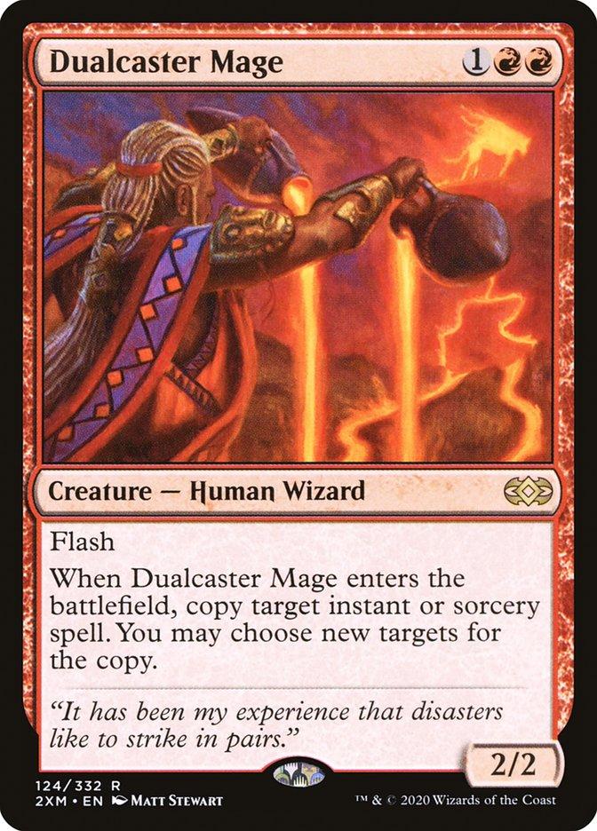 Carta /Dualcaster Mage de Magic the Gathering