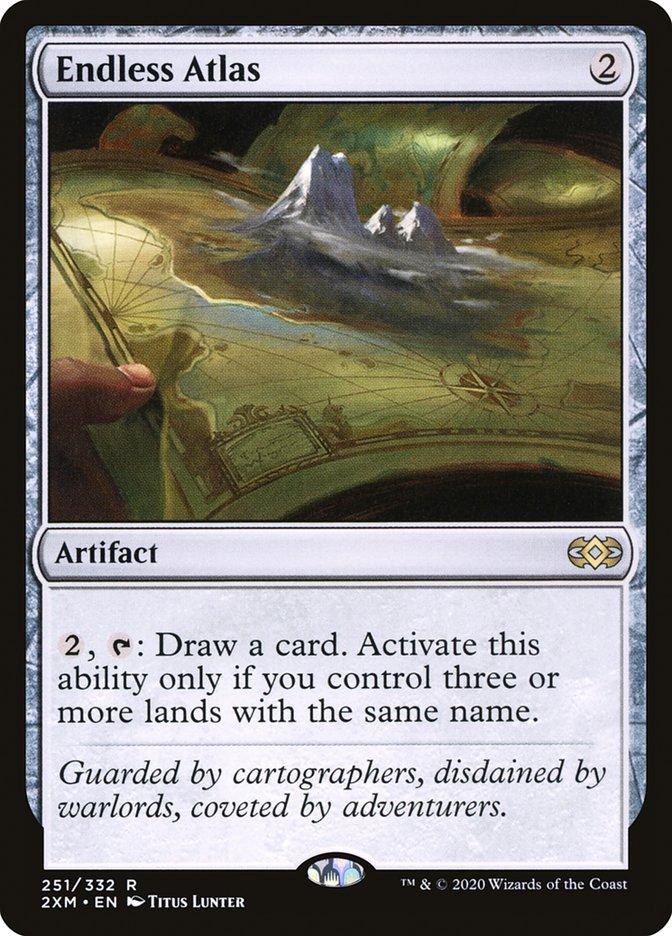 Carta /Endless Atlas de Magic the Gathering