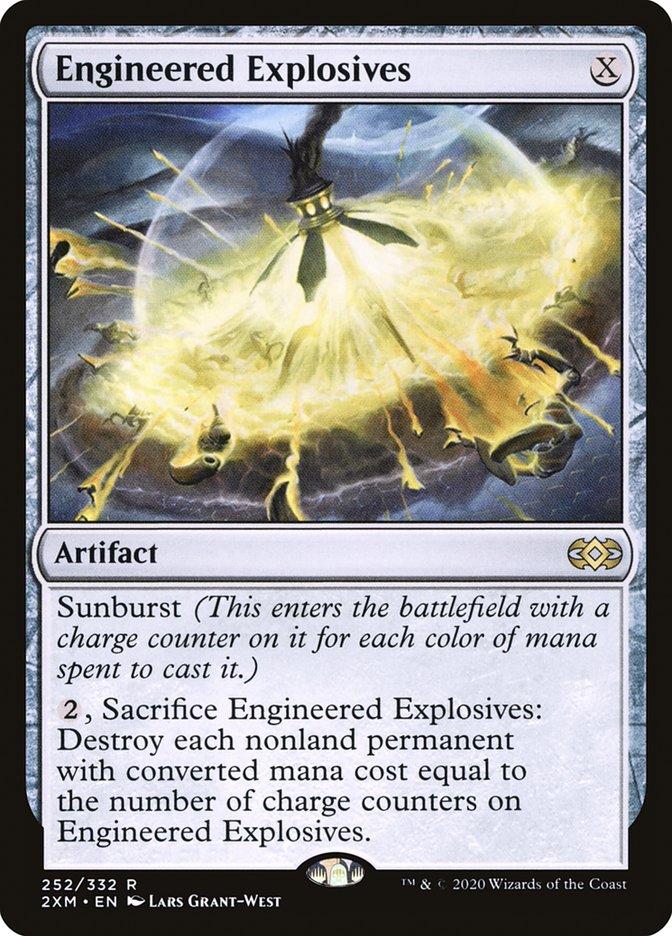 Carta /Engineered Explosives de Magic the Gathering