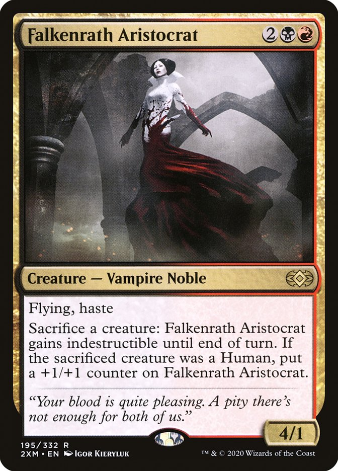 Carta /Falkenrath Aristocrat de Magic the Gathering