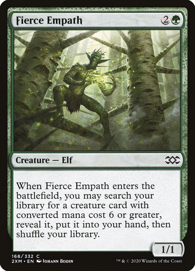 Carta /Fierce Empath de Magic the Gathering