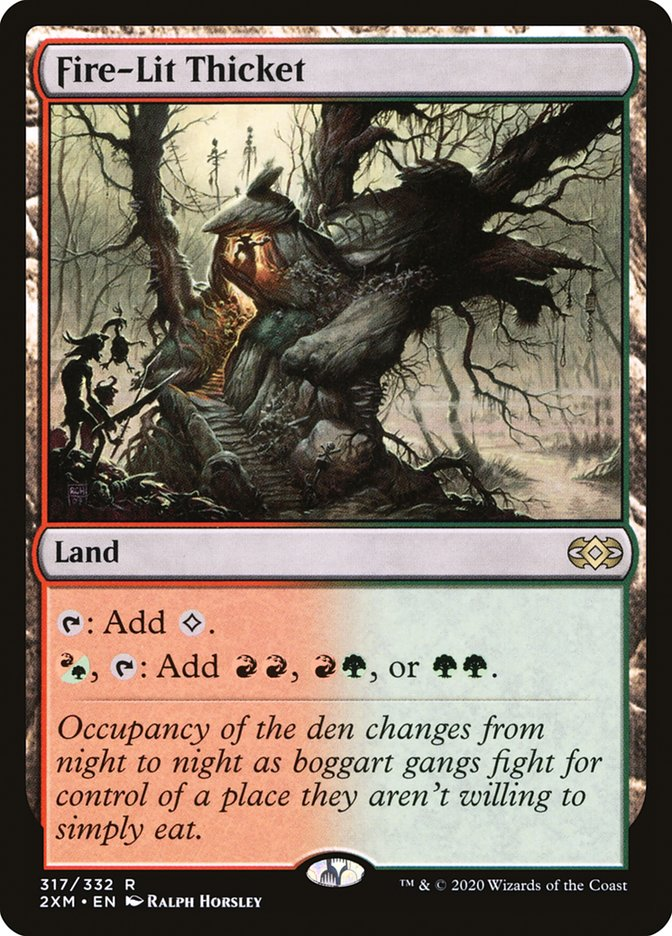 Carta /Fire-Lit Thicket de Magic the Gathering