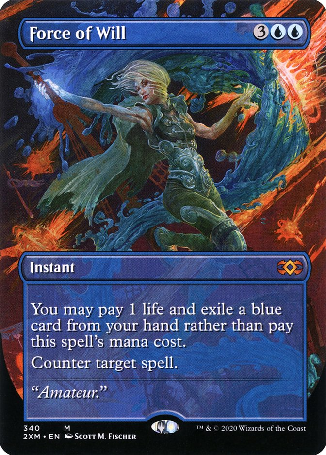 Carta /Force of Will de Magic the Gathering