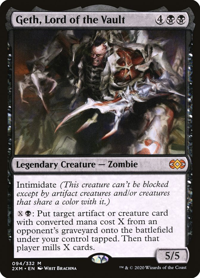Carta /Geth, Lord of the Vault de Magic the Gathering