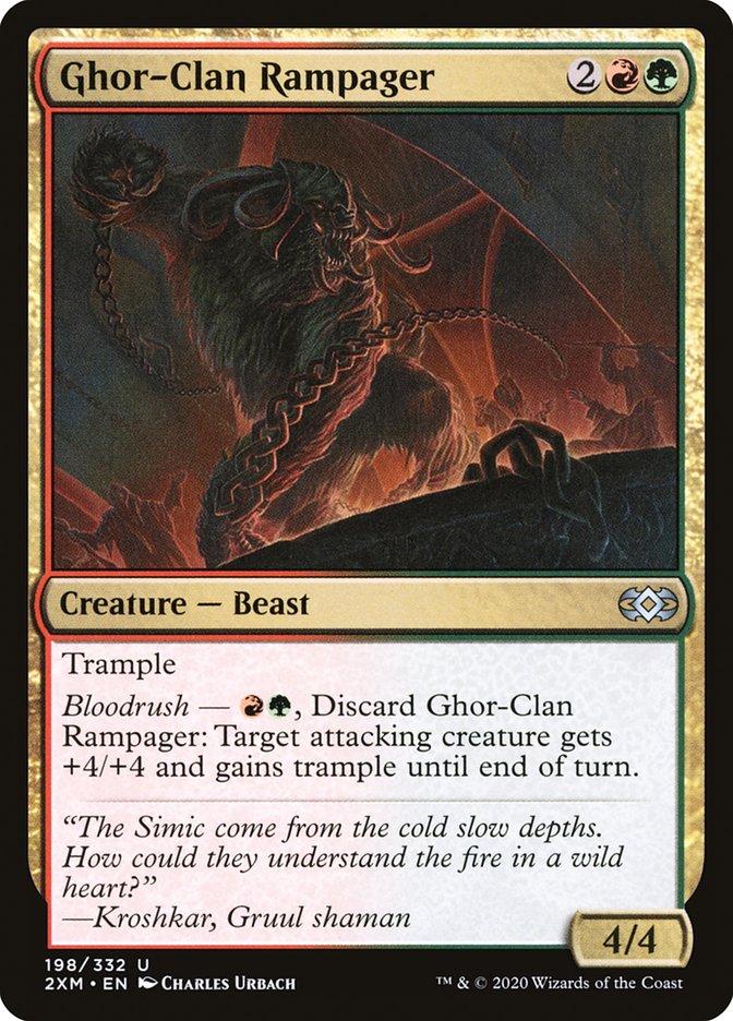 Carta /Ghor-Clan Rampager de Magic the Gathering