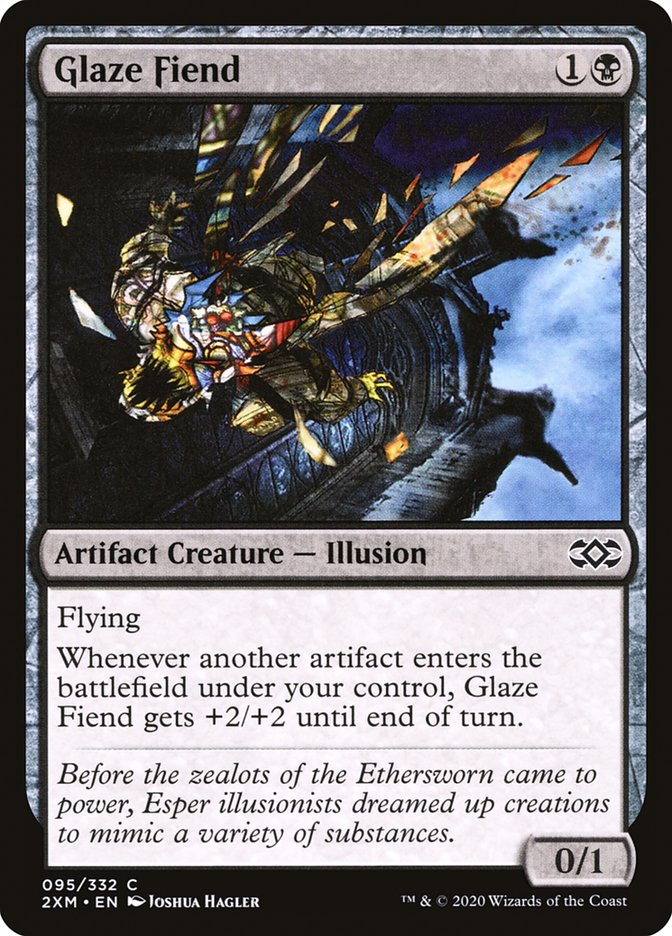 Carta /Glaze Fiend de Magic the Gathering