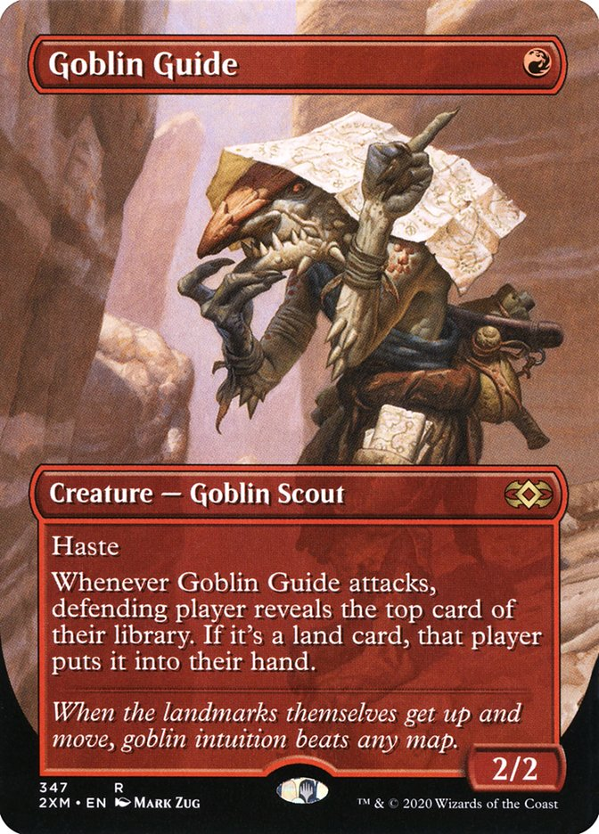Carta /Goblin Guide de Magic the Gathering
