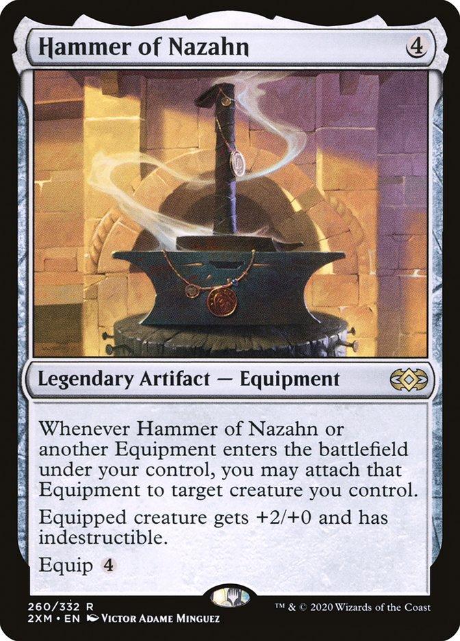 Carta /Hammer of Nazahn de Magic the Gathering