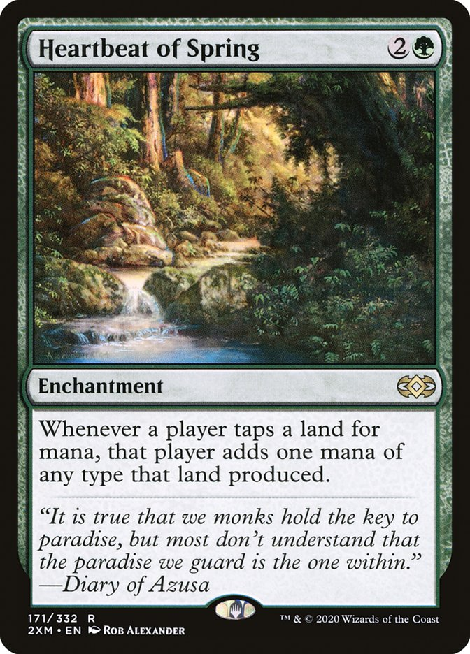 Carta /Heartbeat of Spring de Magic the Gathering