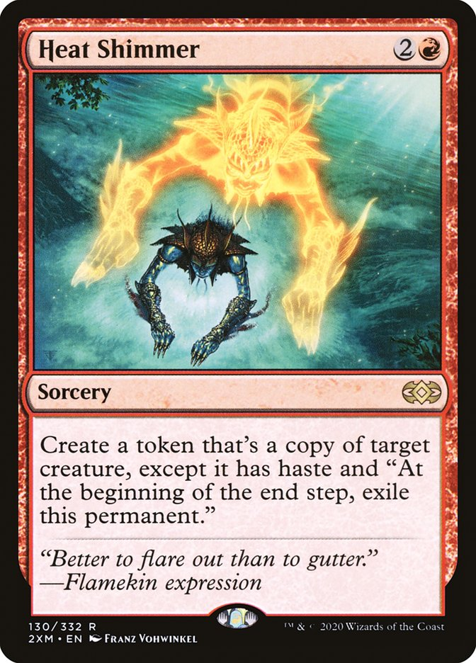 Carta /Heat Shimmer de Magic the Gathering