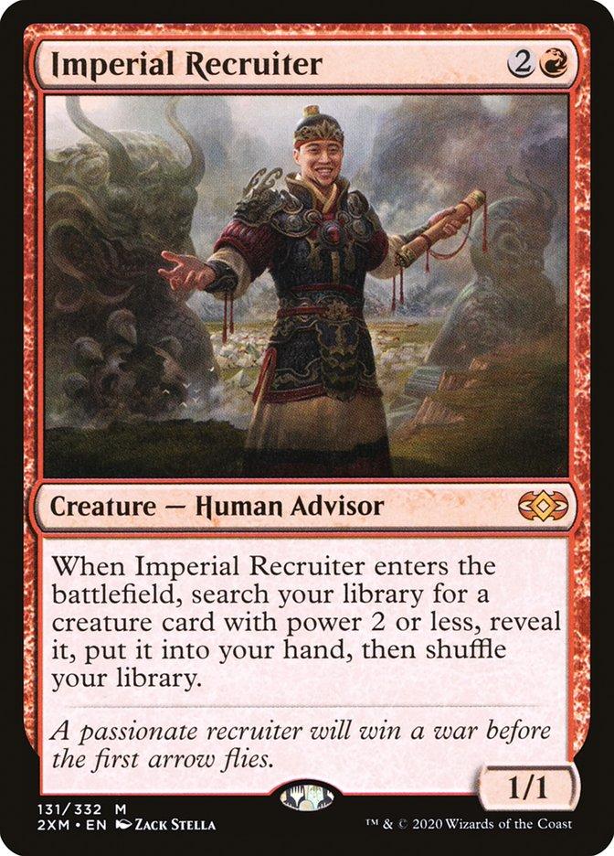 Carta /Imperial Recruiter de Magic the Gathering