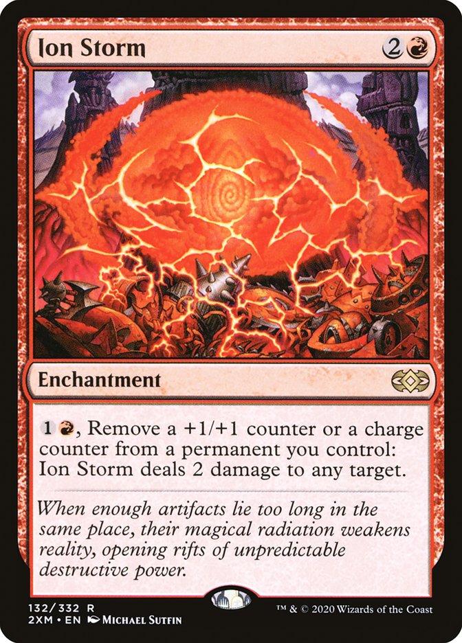 Carta /Ion Storm de Magic the Gathering