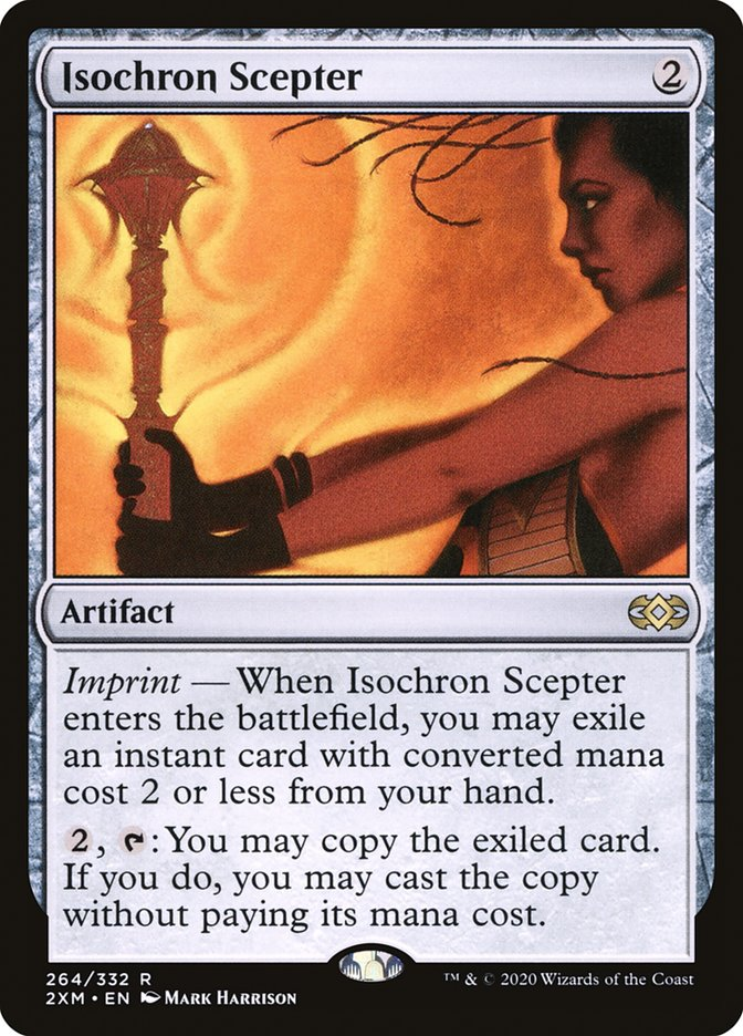 Carta /Isochron Scepter de Magic the Gathering