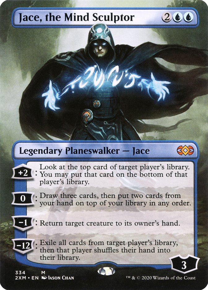 Carta /Jace, the Mind Sculptor de Magic the Gathering