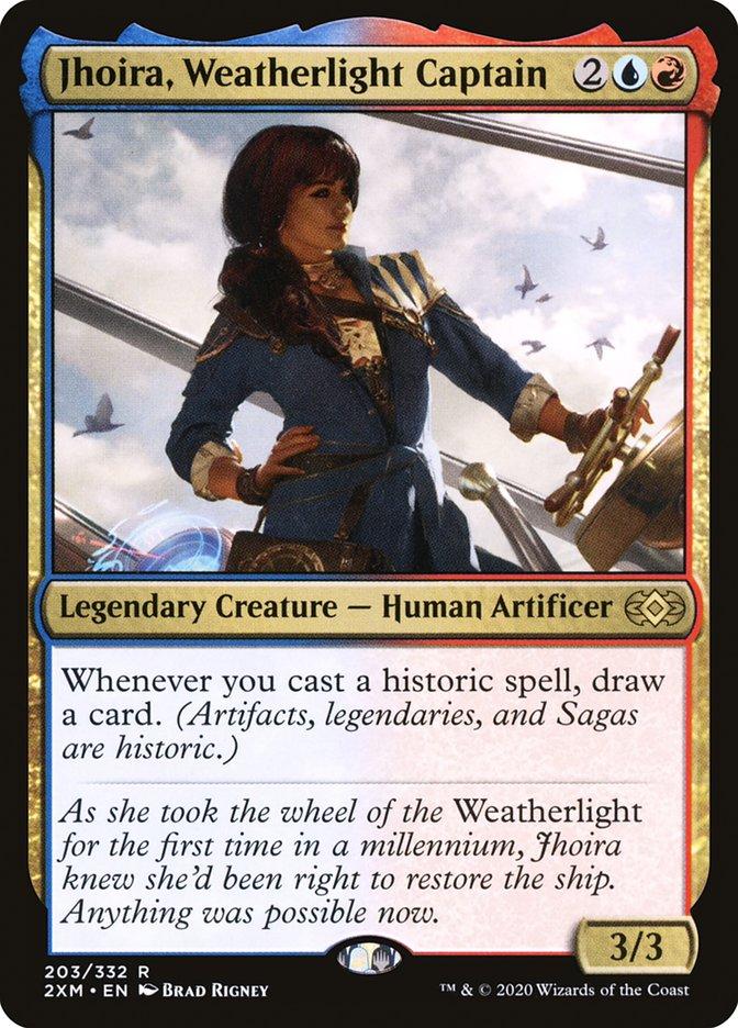 Carta /Jhoira, Weatherlight Captain de Magic the Gathering