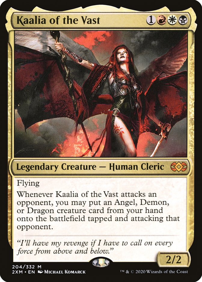 Carta /Kaalia of the Vast de Magic the Gathering
