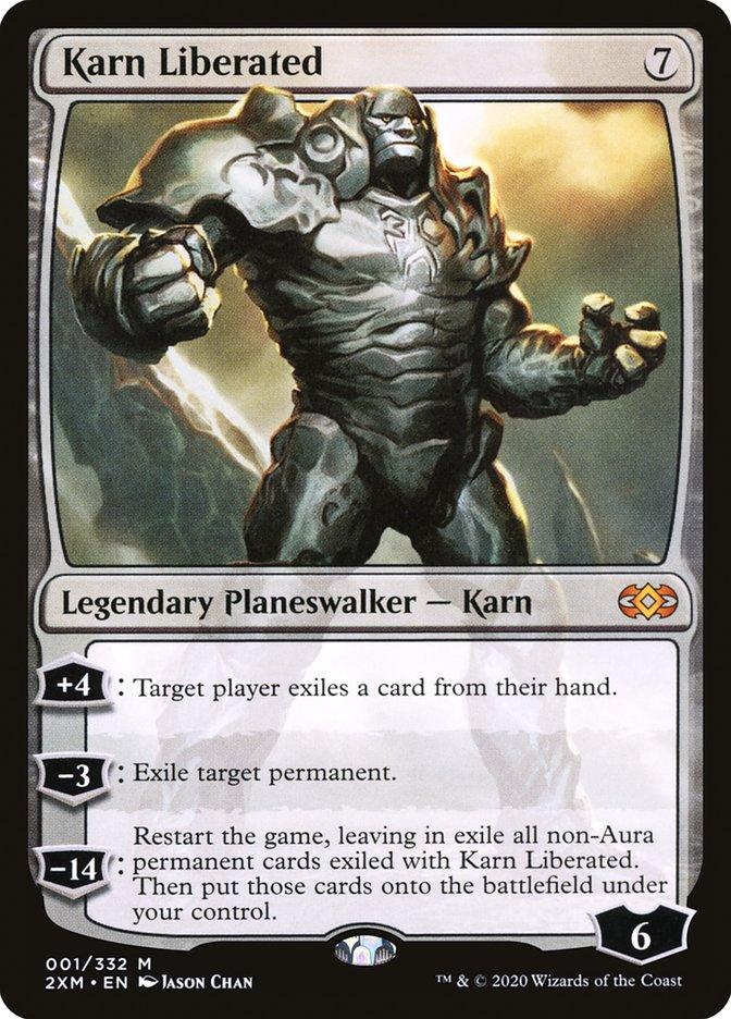 Carta /Karn Liberated de Magic the Gathering