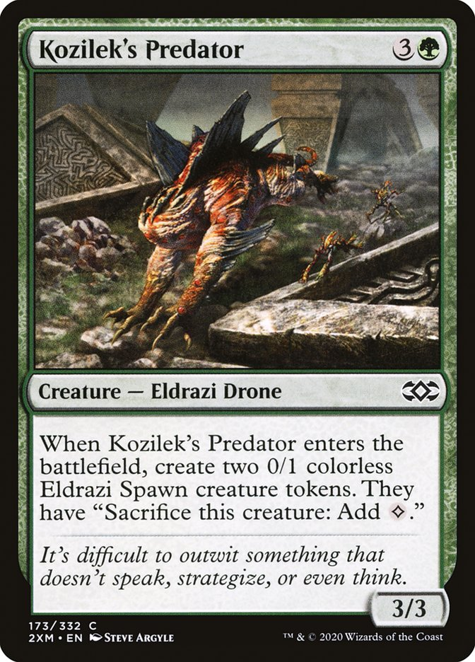 Carta /Kozilek's Predator de Magic the Gathering