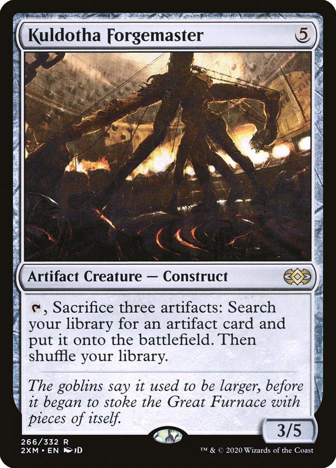 Carta /Kuldotha Forgemaster de Magic the Gathering